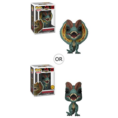 Jurassic Park Dilophosaurus Pop! Vinyl Figure, Not Mint