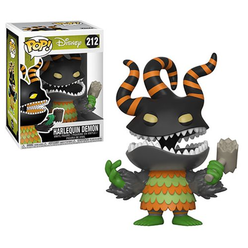 Nightmare Before Christmas Harlequin Demon Pop! Vinyl Figure #212