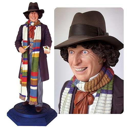 Doctor Who The Fourth Doctor Statue
