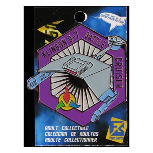 Star Trek Klingon Battle Cruiser Pin