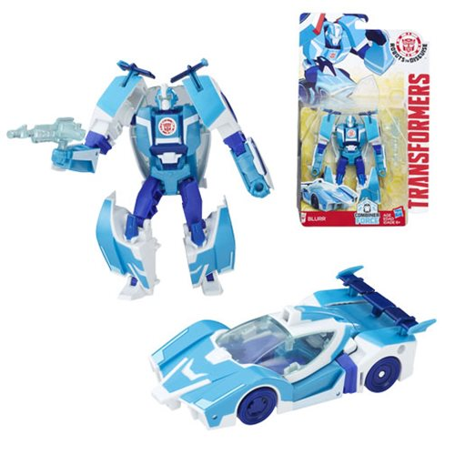 Transformers Robots in Disguise Combiner Force Warrior Class Blurr