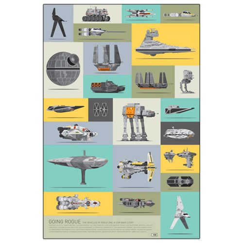Star Wars Going Rogue by Scott Park Lithograph Art Print