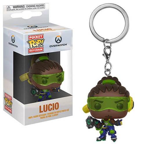 Overwatch Lucio Pocket Pop! Key Chain