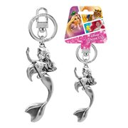 The Little Mermaid Ariel Figural Pewter Key Chain