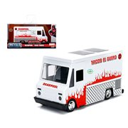 Deadpool Hollywood Rides Food Truck 1:32 Scale Die-Cast Metal Vehicle