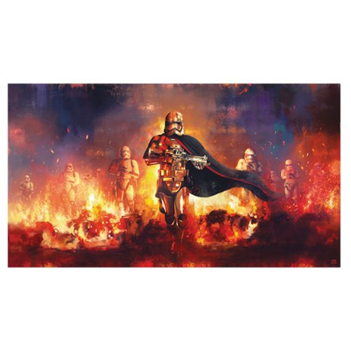 Star Wars The Phasma Command by Akirant Canvas Giclee Art Print