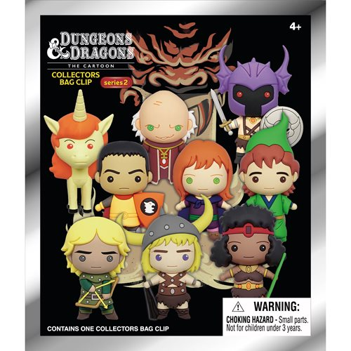 Dungeons & Dragons Series 2 Figural Bag Clip Random 6-Pack
