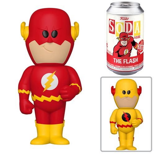 DC Comics The Flash Vinyl Soda Figure