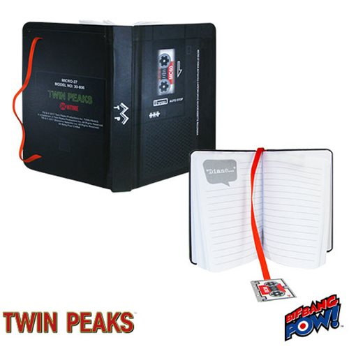 Twin Peaks Microcassette Mini-Journal