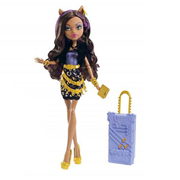 Monster High Clawdeen Wolf Scaris Deluxe Travel Doll