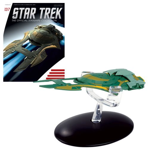 Star Trek Starships Xindi Humanoid Die-Cast Metal Vehicle with Collector Magazine #137