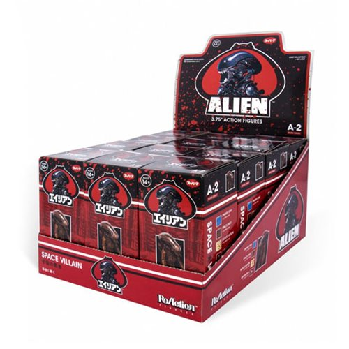 Alien Blind Box 3 3/4-Inch ReAction Figure Wave 2 Box of 12