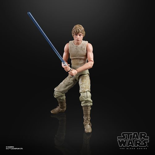 Star Wars The Black Series Empire Strikes Back 40th Anniversary 6-Inch Luke Skywalker Dagobah Action