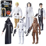 Star Wars The Retro Collection Action Figures Wave 1 Case - Set of 6