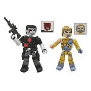 Valiant Bloodshot and X-O Manowar Minimates 2-Pack