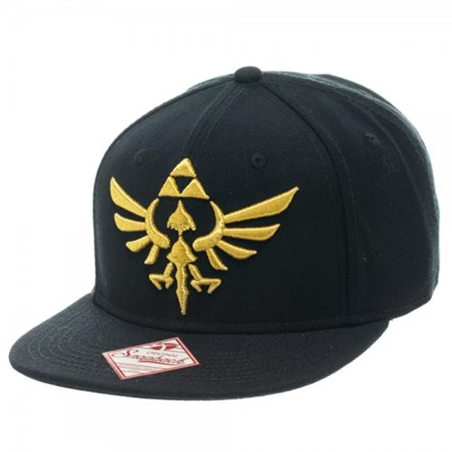 Legend of Zelda Black Snapback Hat