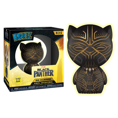 Black Panther Erik Killmonger Glow-in-the-Dark Dorbz Vinyl Figure #425