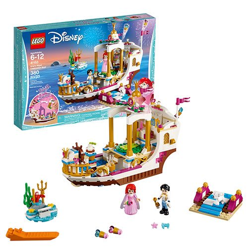 LEGO Disney Princess 41153 Little Mermaid Ariel's Royal Celebration Boat