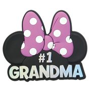 Minnie Mouse #1 Grandma Pink Soft Touch Magnet