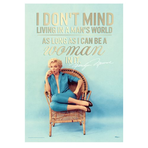Marilyn Monroe Mans World MightyPrint Wall Art Print