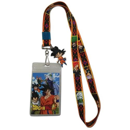 Dragon Ball Super Key Art Lanyard Key Chain
