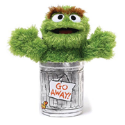 Sesame Street Oscar the Grouch 10-Inch Plush