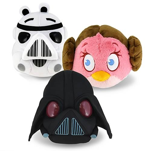 Star Wars Angry Birds Series 1 12-Inch Plush Case