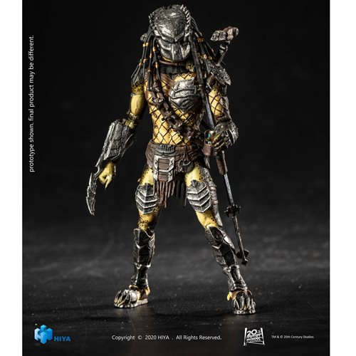Alien vs. Predator: Requiem 2 Wolf Predator 1:18 Scale Action Figure - Previews Exclusive
