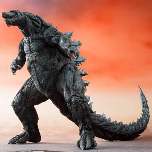 Godzilla: Planet of the Monsters Godzilla Earth SH MonsterArts Action Figure P-Bandai Tamashii Exclusive