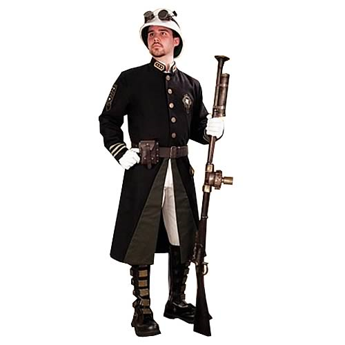 Steampunk Britannia Guard Coat