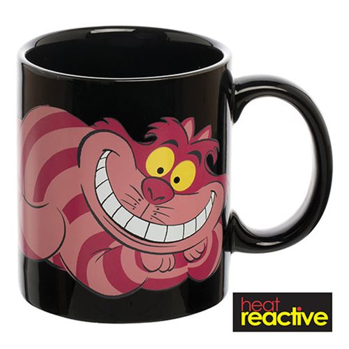 Alice in Wonderland Cheshire Cat 12 oz. Heat Reactive Ceramic Mug