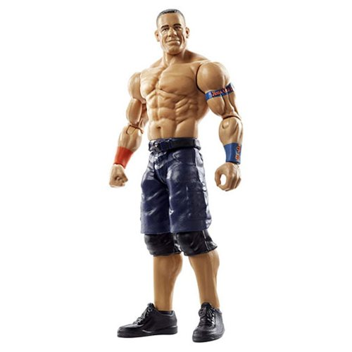 WWE Basic Figure John Cena Action Figure, Not Mint