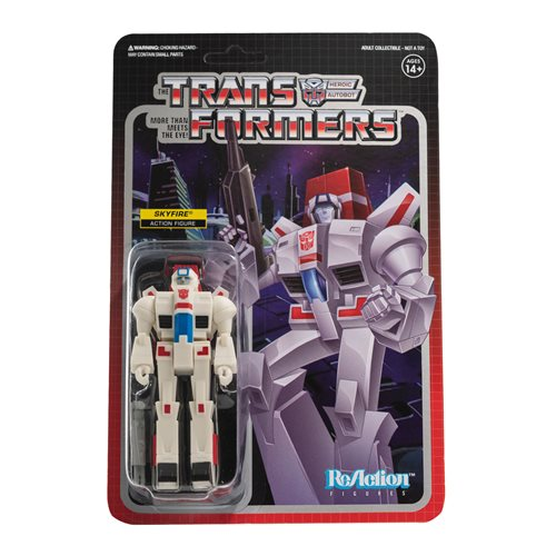 Transformers Skyfire 3 3/4-Inch ReAction Figure