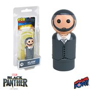 Black Panther Klaw Pin Mate Wooden Figure