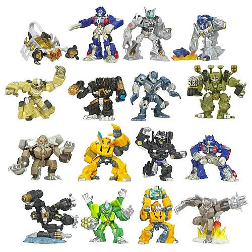 Transformers Movie Robot Heroes Wave 6