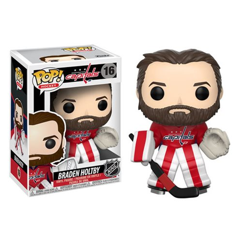 NHL Braden Holtby Pop! Vinyl Figure #16