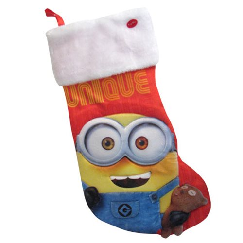 Despicable Me Minion Stocking with Sound