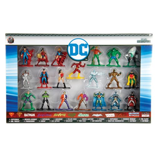 DC Comics Nano Metalfigs Die-Cast Metal Mini-Figures Wave 1 20-Pack