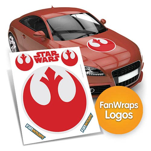 Star Wars Rebel Alliance Symbol FanWraps Car Decal