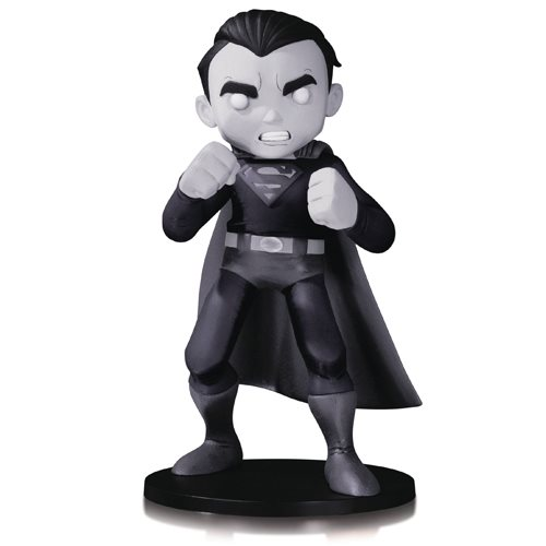 DC Comics Artists' Alley Superman By Chris Uminga Black and White Version Statue
