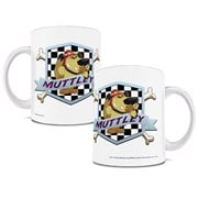 Wacky Races Muttley Badge 11 oz. White Ceramic Mug