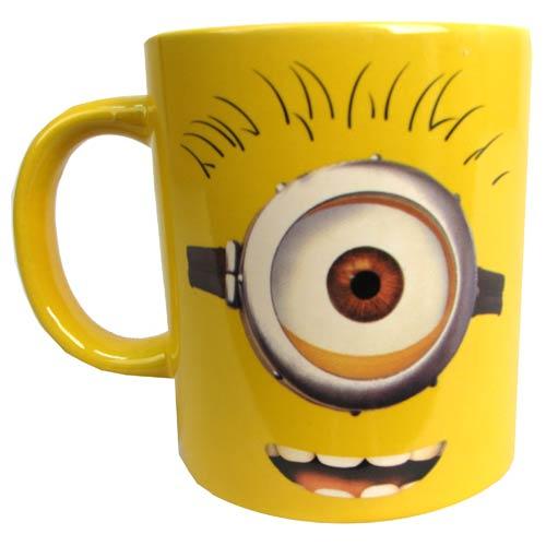Despicable Me One Eye Minion Carl 14 Oz Ceramic Mug