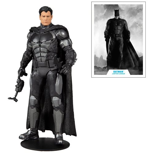 Justice League Movie Zack Snyder Unmasked Batman Bruce Wayne 7-Inch Action Figure - Entertainment Ea