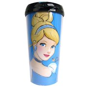 Cinderella 16 oz. Plastic Travel Mug