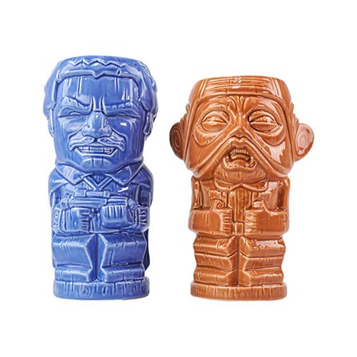 Star Wars Lando and Nien Nunb Geeki Tikis Mug 2-Pack - SDCC Debut