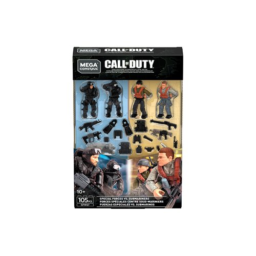 Mega Construx Call of Duty Troop Pack Series 4 Case
