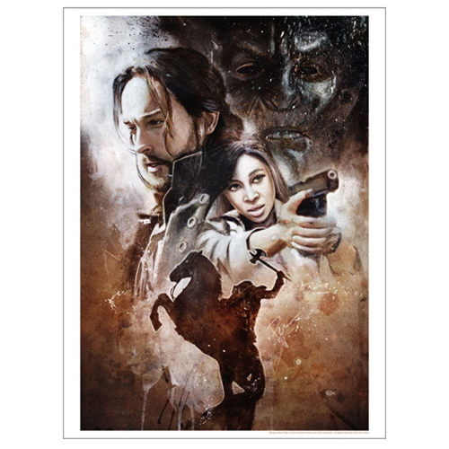 Sleepy Hollow The Witnesses Lithograph
