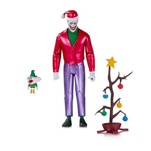 Batman: The Animated Series Christmas with the Joker Action Figure