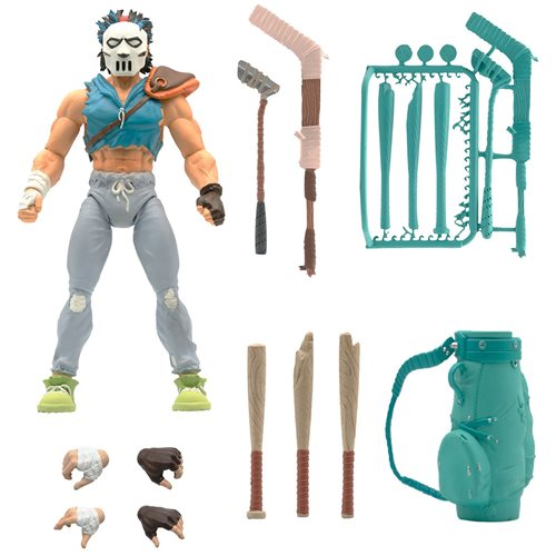 Teenage Mutant Ninja Turtles Ultimates Casey Jones 7-Inch Action Figure