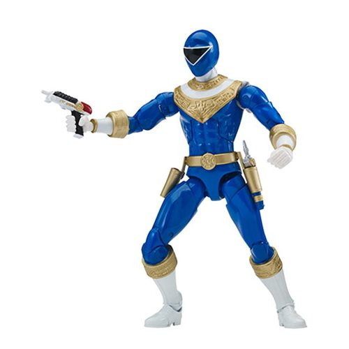 Power Rangers Zeo Legacy Blue Ranger Action Figure